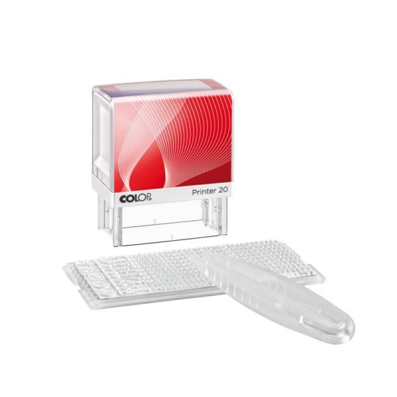 Colop Printer 20/1 DIY Selbstsatzstempel Set - 38mm x 14mm