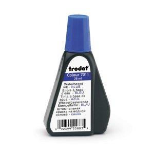 7011 trodat Tinte blau