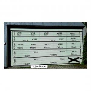 Werbefläche Garagentor - Straßenlage - L347