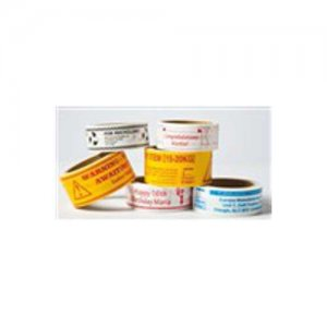 Packband/Infoband individuell weiss - 50mm Breite - Farbe/Länge wählbar
