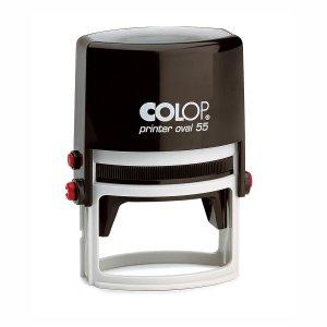 Colop Printer Oval 55 mit Textplatte