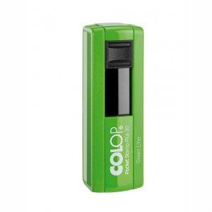 Colop Pocket Stamp 20 plus Green Line mit Textplatte