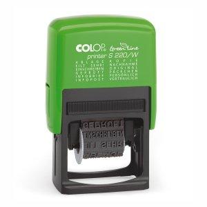 Colop Printer S220/W Green Line Wortbandstempel - 12 Textbänder