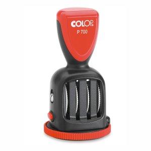 Colop P700/UZ/12h Uhrzeit- Plattendatumsstempel - 50mm rund