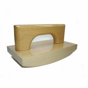Holzwiegestempel 200mm x 100mm - mit Stempelplatte